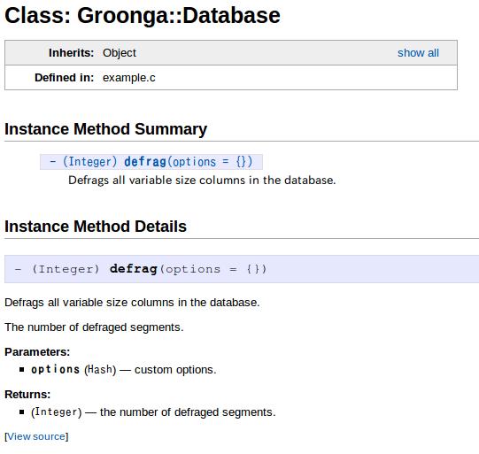 @paramタグと@returnタグが@overloadタグで書いたシグニチャーに対応したリファレンスマニュアル