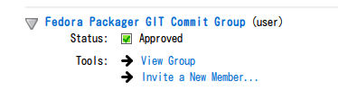 Fedora Packager Git Commit Group