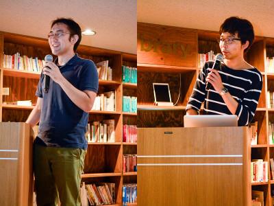 安川さんと高野さんのトーク